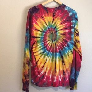Other - Authentic vintage tie-dye long sleeve shirt cotton